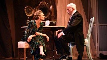 Nadine Garner and John O'May.