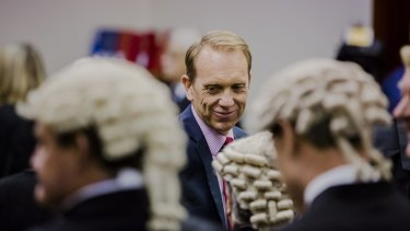 There are concerns about the lack of a suitable replacement for retired attorney-general Simon Corbell.