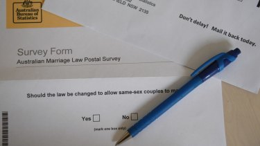 At the last count, almost 80 per cent of eligible voters had returned their survey forms.