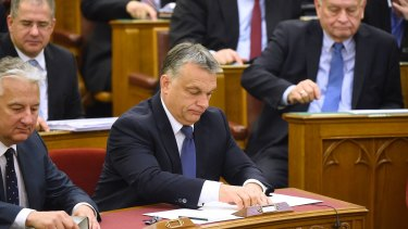 Hungarian Prime Minister Viktor Orban has failed in his bid to ban asylum seekers from entering Hungary.
