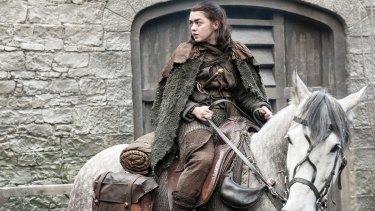 'I'm going home': Arya Stark in Game of Thrones season 7.