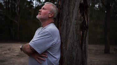 Keith Pearse is a former Australian Navy submariner who has been treated with the TMS method for PTSD.