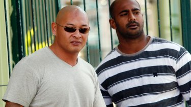 Executed: Andrew Chan with Myuran Sukumaran.