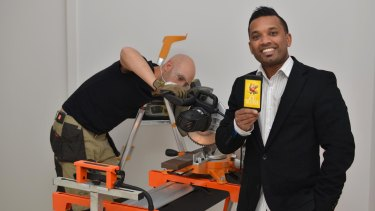 Ishan Dan, founder of the Mr Tradie app.
