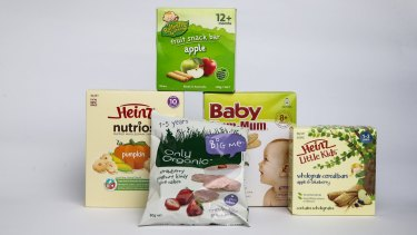 Consumer group CHOICE has found baby food from big name brands contain more sugar than you may expect from their product names.
