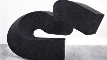 Missing: Clement Meadmore's small steel sculpture Wave.