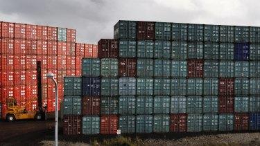 Hutchison Ports Australia has laid off dozens of workers via text message.