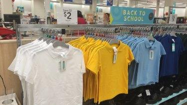 In store: Target's $2 uniforms.
