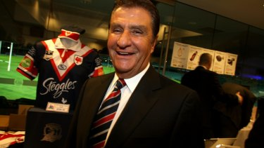 In charge: Sydney Roosters chairman Nick Politis