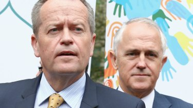 Bill Shorten and Malcolm Turnbull can both point to polls putting themselves in the lead.