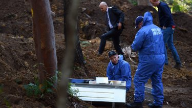 Forensic services during the search for the burial place of Matthew Leveson.