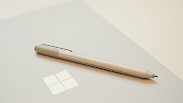 The Surface Pen is included.