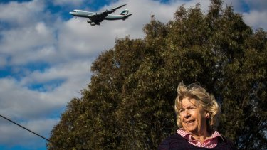 Susan Jennison moved to Keilor in 1971, the year after Melbourne Airport opened.