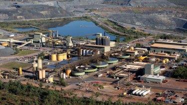 Aerial views of Jabiluka and Ranger Uranium Mine.