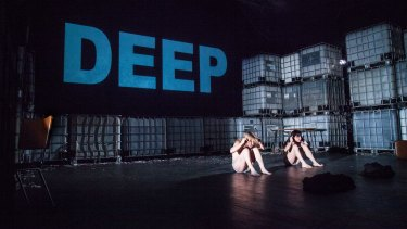 In deep: Nicci Wilks and Kate Sherman in <i>Animal</i> at Theatre Works.