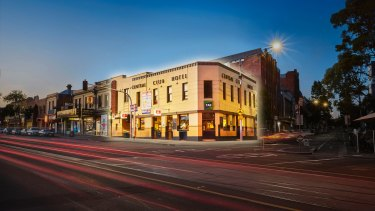 The ANMF has paid $7.925 million for the Central Club Hotel on Victoria Street, North Melbourne