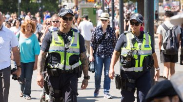 Police made 65 arrests over the weekend.