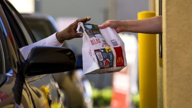 Drive-thru is the third most popular way for Australians to buy fast food.