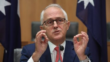 Prime Minister Malcolm's decryption laws would oblige tech companies to find a way to give law enforcement access.
