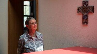 Sister Brigid Arthur at the Brigidine Order in Albert Park, Melbourne.