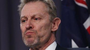 ABS head David Kalisch during the Census meltdown.