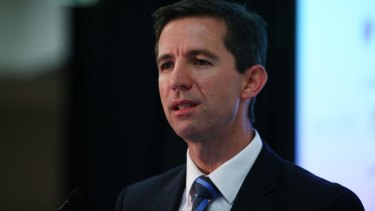 """""""I will defend the defensible but if I need to act, I will"""": Minister Simon  Birmingham."""