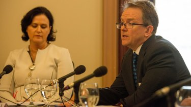 Ann-Maree Wolff and Phil Edmands testified for Rio Tinto at the corporate tax avoidance inquiry.