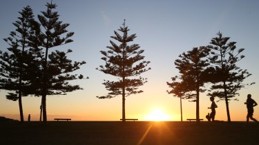 Sun's up: It's going to be warm around Queensland's south.