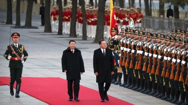 China showed that it is prepared to ignore the rules-based order when it is constraining Beijing's ambitions.