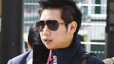 "Vorayuth ""Boss"" Yoovidhya at the British Formula 1 Grand Prix in Silverstone, England in 2013."