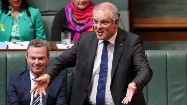 Scott Morrison says banks should absorb the cost of the new levy, not pass it on.