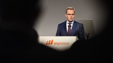 BHP boss Andrew Mackenzie said last week he lobbied Trump to keep the US in Paris