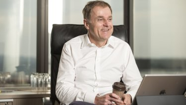 Disappointed: Peter Tonagh, CEO of Foxtel.