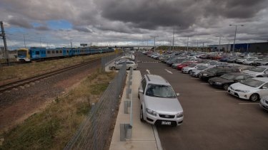 Williams Landing station has huge parking problems .