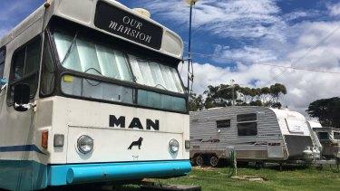 BP Caravan Park in Werribee South.