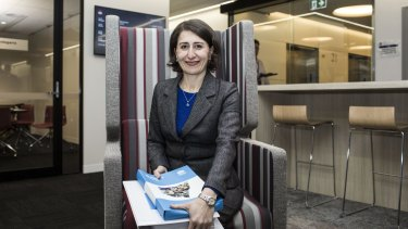 """Gladys Berejiklian's first budget is """"the culmination of four years of fiscal repair""""."""