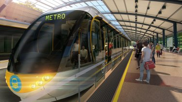 The Brisbane Metro has, until this point, always been talked about in terms of rubber-tyred trams.
