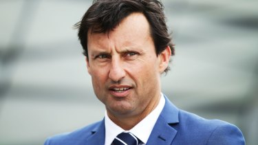"""""""I don't think you are ready"""": Blues coach Laurie Daley."""