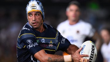 North Queensland Cowboys captain Johnathan Thurston has been the face of Townsville's push for a new stadium.
