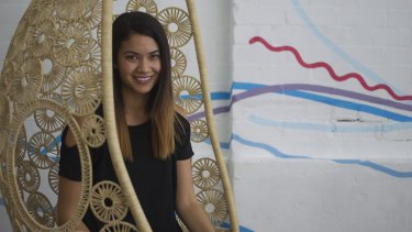 Canva CEO Melanie Perkins believes trying hard leads to success.