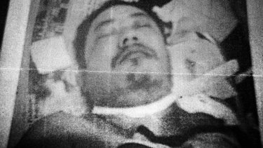 End play: Man Singh Ghale after his death in 2005.