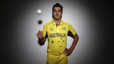 Australian fast bowler Pat Cummins.