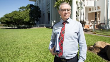 """History will judge how Australia treats Aboriginal people"": John Lawrence, SC, Darwin barrister."