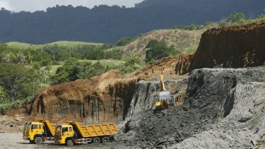 Similar to the Ramu nickel mine in PNG, Axiom Mining is planning an open-cut nickel mine in the Solomon Islands