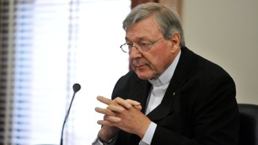 Cardinal Pell photographed in 2013.