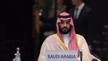 Saudi Arabia Deputy Crown Prince Mohammed bin Salman attends in China last year.