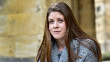 End Rape on Campus founder Sharna Bremner.