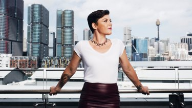 The new voice of Sydney, Em Rusciano, host of 2DayFM's breakfast show.