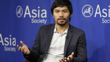 """Manny Pacquiao created controversy after saying people in same-sex relationships """"are worse than animals"""". The boxer and politician has apologised."""