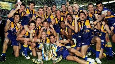The West Coast premiership team of 2006.